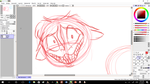 CP: OMG ITS SMILEY!!!! SKETCH by ModernLisart