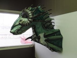Paper Mache Sea Dragon by Lordnightbane