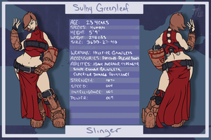 Sulby Greenleaf Profile by LeftHand-Black