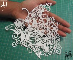 Papercut Art #0013 by ParthKothekar