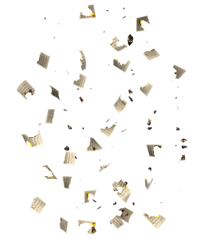RESTRICTED - Burnt Music Sheets PNG by frozenstocks