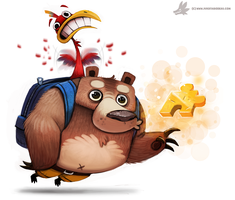 Day 785. Banjo Kazooie by Cryptid-Creations