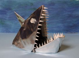 Shark - inspired by 'Jaws' by m0rpheus