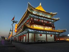 Xi'An Citywall by girl