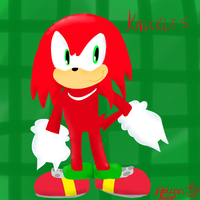 Knuckles by PoisonLuigi