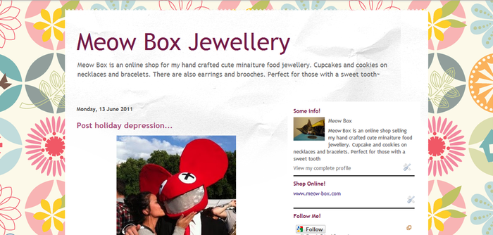 New blog layout by Meow-Box