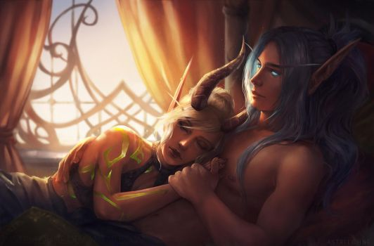 Reiuji and Hecatay [C] by Astri-Lohne