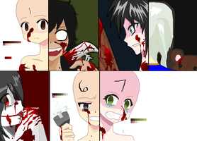 .:Creepypasta Open Collab:. by Lolita64