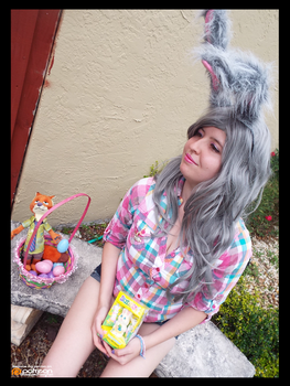 (Zootopia) Easter Bunny Judy Hopps! (Cosplay) #6 by KrazyKari