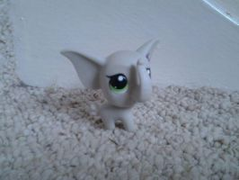 LPS Grey Elephant Blind Bag by ButchxButtercup1996