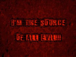 Evil Source by kXn