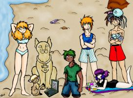 EE Beach Party by PirateKing