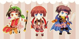 Suikoden Keychain ready to order by miacis83