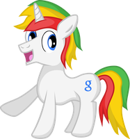 Google Pony by red-pear