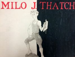 Milo Thatch/Scarface by simpsonsquire