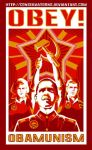 Obama: Obey Obamunism by Conservatoons