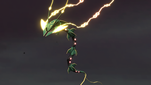 THE PRIMAL 3 - Mega Rayquaza by Deimos1984rd