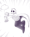 UNDERTALE - Royal scientist - by BloodyArchimedes