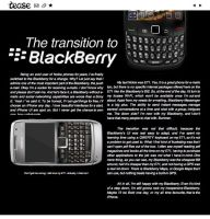 The Transition to BlackBerry by mrazz