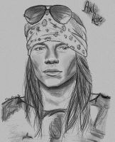 Axl Rose by MonalisaBorges