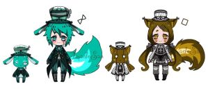 Doll-soul (Closed species) adoptables CLOSED by AS-Adoptables