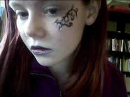Random old face paint/makeup thing by LoranaLea