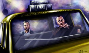 taxi driver vs collateral by PlER0