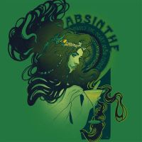 Absinthe makes the Heart Grow Fonder by Design-By-Humans