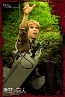 SNK cosplay - Help, Jean by darknaito