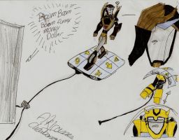 ddr prowl and bumblebee by transformersmix