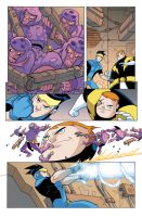 Legion of Supe Heroes page 17 by greenestreet
