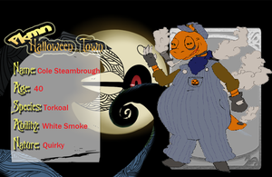 PKMN HT- Cole Steam The Conducter by DescaKlang