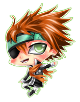 CHIBI - DGM Lavi by Razon-Fan