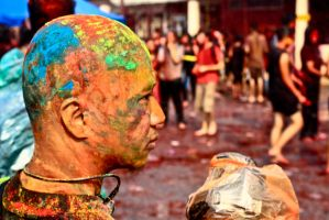 colour of bald by AlipSuhaimi