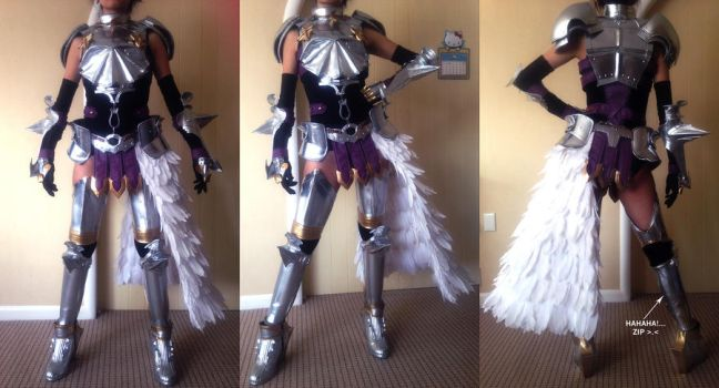 Final Fantasy XIII-2 Knight of Etro armor by Fantalusy