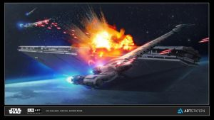 ILM Art Department Challenge: The Ride No1 by AnthonyDevine