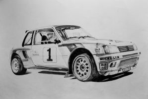 Peugeot 205 T16 by Piotr04