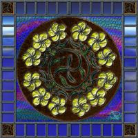 20140211-Spring-Flowers-And-Metal-Mandala-v017 by quasihedron