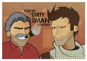 dirty old man by the-dumb-waiter