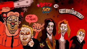 Berry Face vs The Lost Boys by Makinita