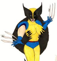 Lady Wolverine by lurdpabl