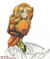 Metroid Prime: Samus Aran by Lady-Owl