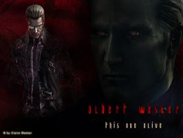 Albert Wesker alive by Claire-Wesker1