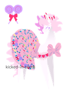 [SOLD] Candy Lolita Pony adoptable by kicked-in-teeth