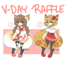 V-DAY RAFFLE ADOPTS [CLOSED] by Reitrou