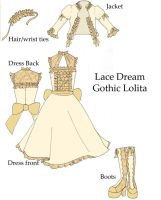 Lolita Dress Design by ferresan