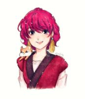 Doodle Yona-hime 'n Ao by HSanti