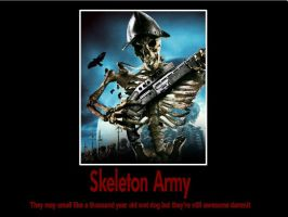 Skeleton Army by psbox362