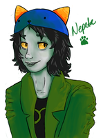 Nepeta- Digital by Kittysaysmeow-WQ