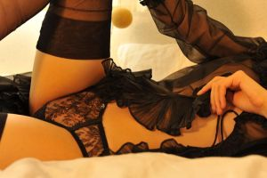 Black Lingerie 6 by Openget